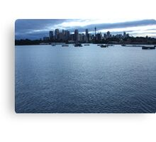 early morning Sydney Canvas Print