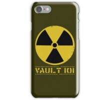 Vault 101 iPhone Case/Skin