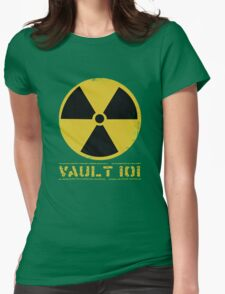 Vault 101 Womens Fitted T-Shirt