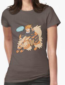 Gary Oak Womens Fitted T-Shirt
