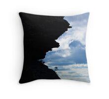 Teeth of the Mountain Throw Pillow