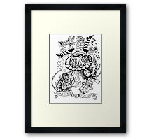 Curiouser and Curiouser Framed Print