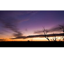 Mt Cooke Sunset Photographic Print