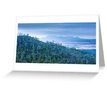 Forest and Mountains Greeting Card