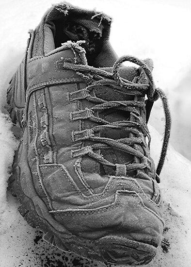 Frosty Shoe by Stephen Thomas