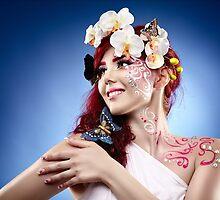 Fantasy makeup by naturalis