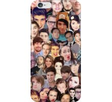 Youtube Collage iPhone Case/Skin