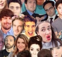 Youtube Collage Sticker