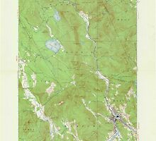 Maine USGS Historical Map Rumford 306744 1927 62500 by wetdryvac