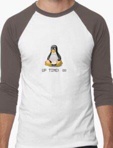 Linux - Uptime Infinity Men's Baseball ¾ T-Shirt
