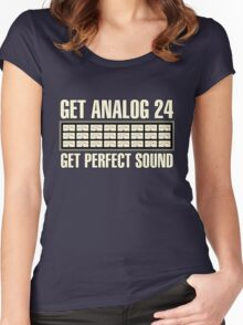 Get Analog 24 Women's Fitted Scoop T-Shirt