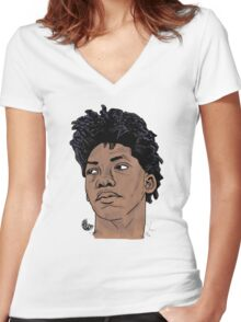 Elfrid Payton - Session Art Women's Fitted V-Neck T-Shirt