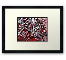 Inlets to Illusion Framed Print