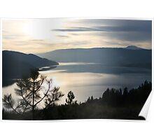 Kalamalka Lake from Kal. Lake Provincial Park. Poster