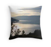 Kalamalka Lake from Kal. Lake Provincial Park. Throw Pillow