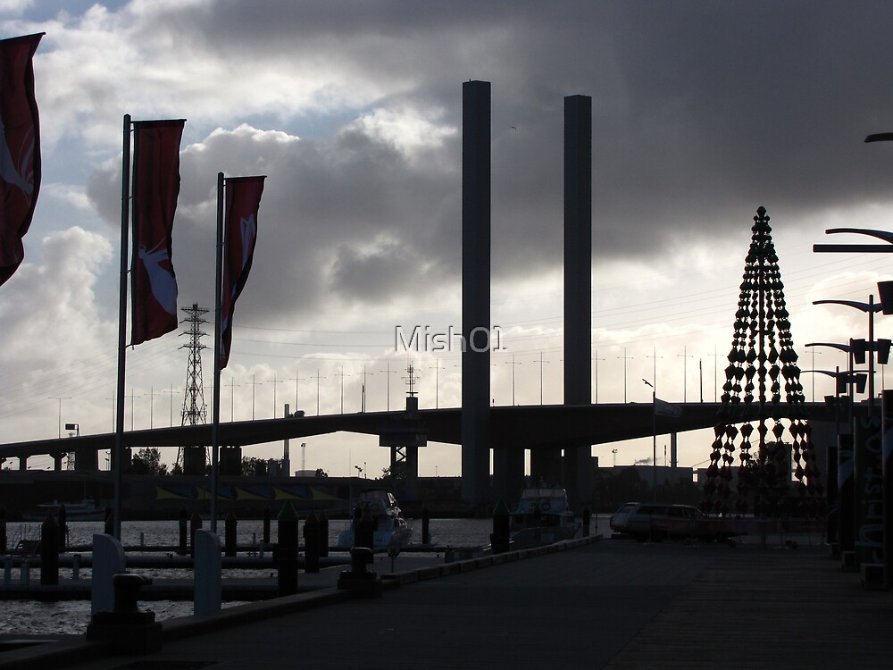 A Docklands Christmas by Emma  Pettis