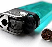 Cigarette & Lighter by Nicholas Richardson