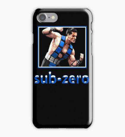 Sub Zero iPhone Case/Skin