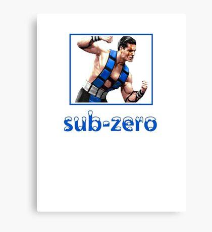 Sub Zero Canvas Print
