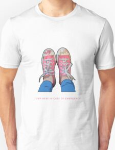 Jump here in case of emergency T-Shirt