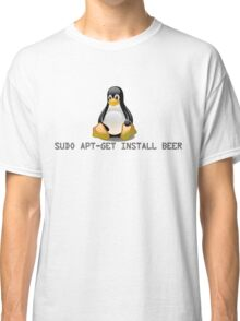 Linux - Get Install Beer Classic T-Shirt