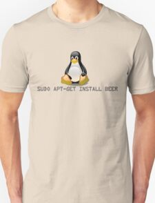 Linux - Get Install Beer Unisex T-Shirt