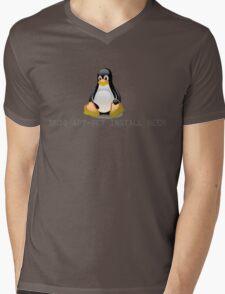 Linux - Get Install Beer Mens V-Neck T-Shirt