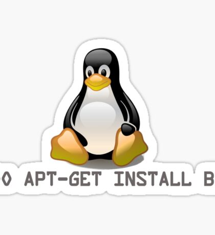 Linux - Get Install Beer Sticker