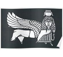 broken sphinx Poster