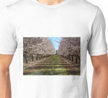 Blossoming Almond Trees Unisex T-Shirt