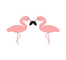 Pink Flamingos Design by biglnet