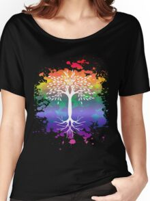 peace tree  Women's Relaxed Fit T-Shirt