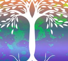 peace tree  Sticker