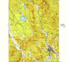 Maine USGS Historical Map Rumford 460821 1927 62500 by wetdryvac