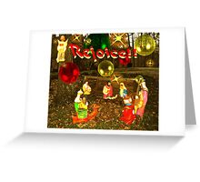THE MANGER Greeting Card