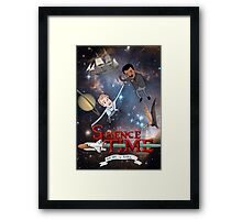 Science Time Framed Print