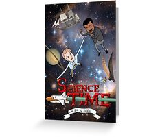 Science Time Greeting Card