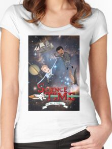 Science Time Women's Fitted Scoop T-Shirt