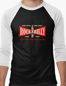 Rockabilly Spark Men's Baseball ¾ T-Shirt