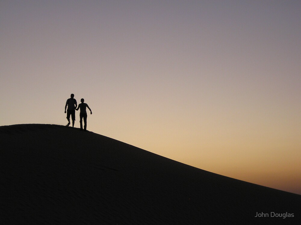 Arabian Silhouette by John Douglas