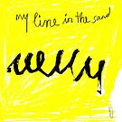 my line in the sand by Shylie Edwards