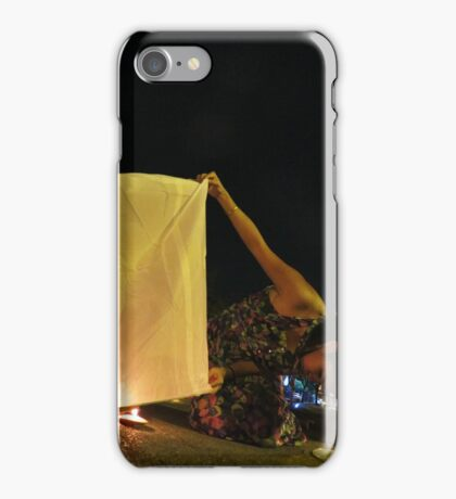 Krathong - Chiang Mai, Thailand iPhone Case/Skin