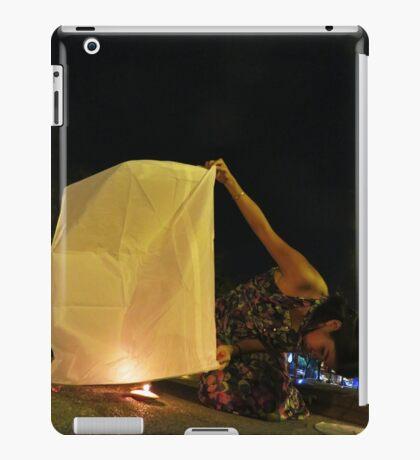Krathong - Chiang Mai, Thailand iPad Case/Skin