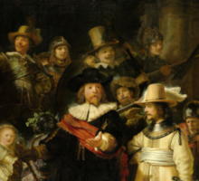 'Nachtwacht', Rembrandt, 'The Night Watch' Sticker