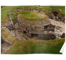 Skara Brae Settlement Poster