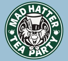 Mad Hatter Tea Party One Piece - Short Sleeve