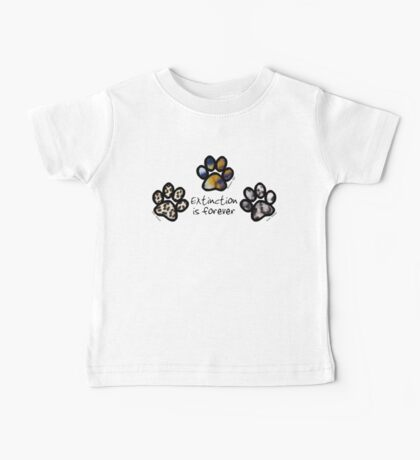 Big cat paws Baby Tee