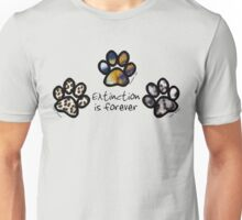 Big cat paws Unisex T-Shirt