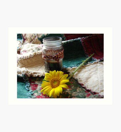 The jar... Art Print