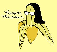 Banana Mouskouri Photographic Print